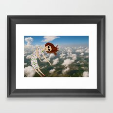when you need to fly you need to fly Framed Art Print