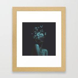 Dead Flowers (Recolor) Framed Art Print