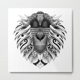 Ornate Rafiki Vol.2 Metal Print