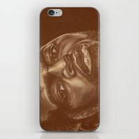 chad wys iPhone & iPod Skins featuring round 8..chad dawson by noblackcolor