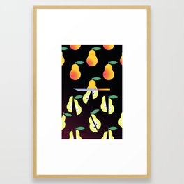 HB_i12 Framed Art Print