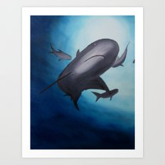 Out of the Deep Art Print