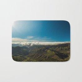 Cloudy landscape Bath Mat