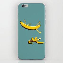Banana Slip iPhone Skin