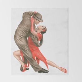 Tango Throw Blanket