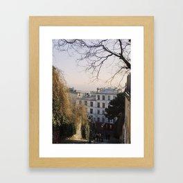 Montmartre Views Framed Art Print
