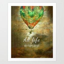 All life...  [ N°2 ] Art Print