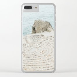 Human Mandala Clear iPhone Case