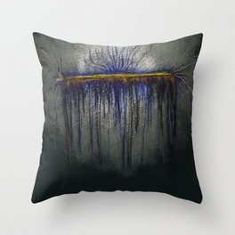 Dystopian Silence Throw Pillow