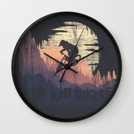Ride The Trails Wall Clock