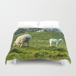 What's Over Here Duvet Cover
