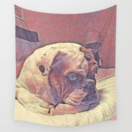 Stink Eye Wall Tapestry