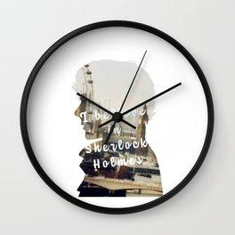Sherlock Holmes - BBC tv show sherlock - Believe in Sherlock Wall Clock