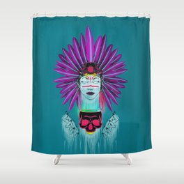 Witch Doctor Shower Curtain