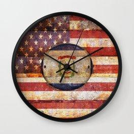 West Virginia. Wall Clock
