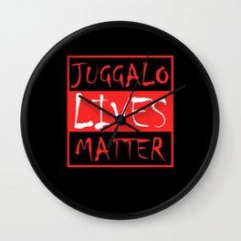 Juggalo Lives Matter Opinion Rally Wall Clock