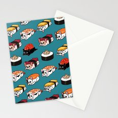 Sushi Frenchie Stationery Cards