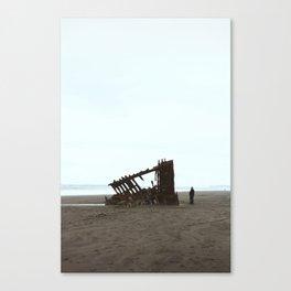 Fort Stevens, Oregon Coast Canvas Print