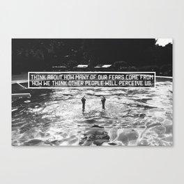 Fear of Perception Canvas Print