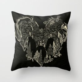 Love You, Too Throw Pillow