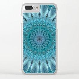 Mandala empathy Clear iPhone Case