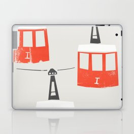 Barcelona Cable Cars Laptop & iPad Skin