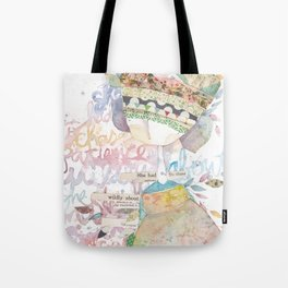 wildly about. Tote Bag
