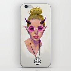 Monster Girl #3 iPhone & iPod Skin