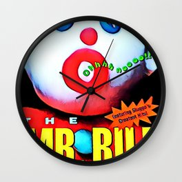 Mr. Bill - Graphic 2 Wall Clock