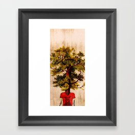 The Tree-man Framed Art Print