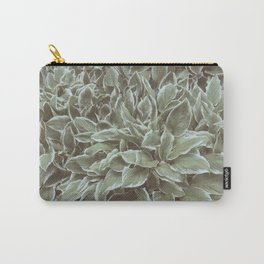 Green Leaves Plant, Hosta Carry-All Pouch
