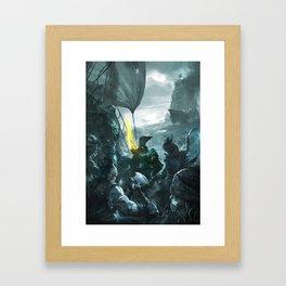LW 02 Framed Art Print