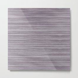 Summer Beach House Whitewashed Purple Pastel Decking Metal Print