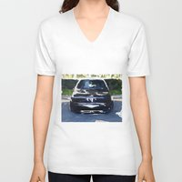 bmw V-neck T-shirts featuring BMW E30 by Another Coat