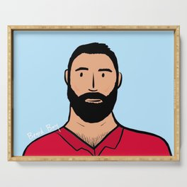 Beard Boy: Rafa Serving Tray