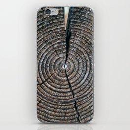 Rings of Wood iPhone Skin