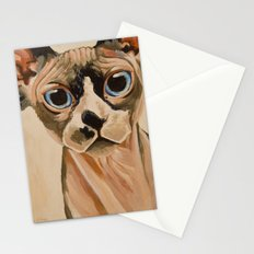 Hairless Sphynx Cat Stationery Cards