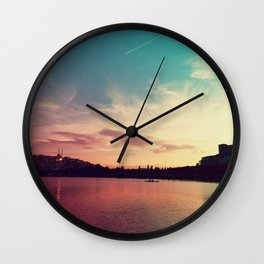 Istanbul Gradient Colors Wall Clock
