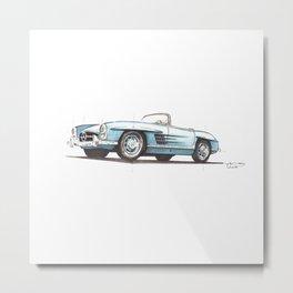 190 SL Metal Print
