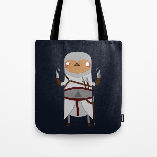 Assassin Sloth Tote Bag