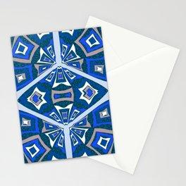 Mid Century Kalidescope Stationery Cards