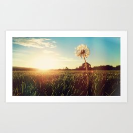Just Dandy Art Print