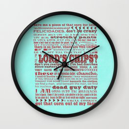 nacho libre quotes from jack black movie... Wall Clock