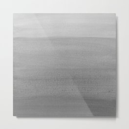 Touching Black Gray White Watercolor Abstract #2 #painting #decor #art #society6 Metal Print