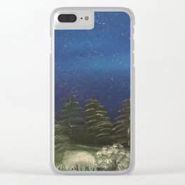 Starry Night - Pure Nature Clear iPhone Case