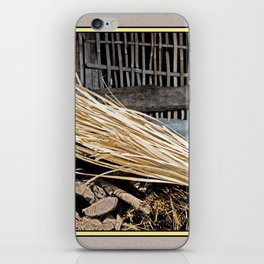 ART OF RURAL LIFE IN RUSTIC NEPAL iPhone Skin