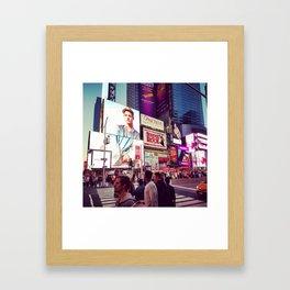 New York: Times Sqaure Framed Art Print