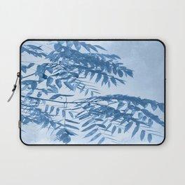 Blue Foliage Laptop Sleeve
