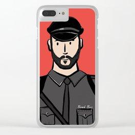 Beard Boy: Alberto Clear iPhone Case