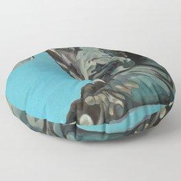 Great Dane Dog Portrait Floor Pillow